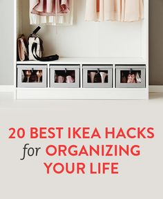 20 best Ikea hacks for organizing your life