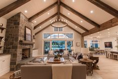 Utah Custom Homes Midway Farms Family Room - Utah Custom Homes Midway Farms Family Room Informations About Utah Custom Homes Midway Farms Family - Living Room Remodel, Home Living Room, Living Room Designs, Rustic Living Rooms, Custom Home Builders, Custom Homes, Accent Walls In Living Room, Living Room Vaulted Ceiling, Vaulted Ceilings