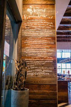 Painted Story on Barnwood Calgary Nando's Peri Peri Restaurant