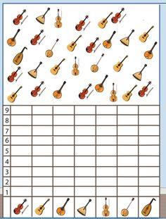 musical instruments number count worksheet for kids (3)