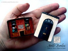 221B Baker Street Sherlock Matchbox with HOW TO!!! - PAPER CRAFTS, SCRAPBOOKING & ATCs (ARTIST TRADING CARDS)