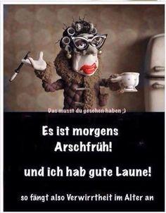 """Arschfrüh..."""