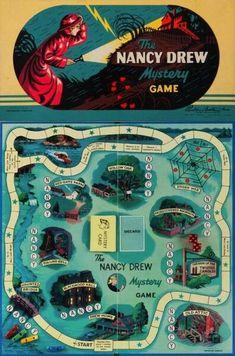 Nancy Drew Mystery Game (1957)