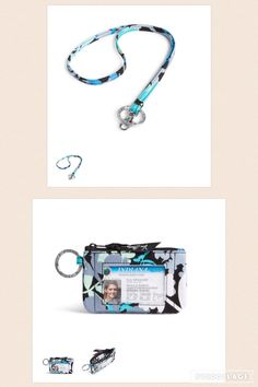 Zip ID Case and Lanyard from Vera Bradley in Camofloral