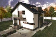 Proiect de casa duplex cu mansarda si garaj pentru doua automobile-100560 - Chisinau http://www.proiectari.md/property/proiect-de-casa-duplex-cu-mansarda-si-garaj-pentru-un-automobil-100560/