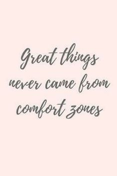 great things never came from comfort zones l deep motivational quotes about life l quotes to live by Inspirational Quotes For Women, Motivational Quotes For Working Out, Inspiring Quotes About Life, J'ai Dit Oui, Oui Oui, Deep Quotes That Make You Think, Quotes To Live By, Life Quotes, Travel The World Quotes