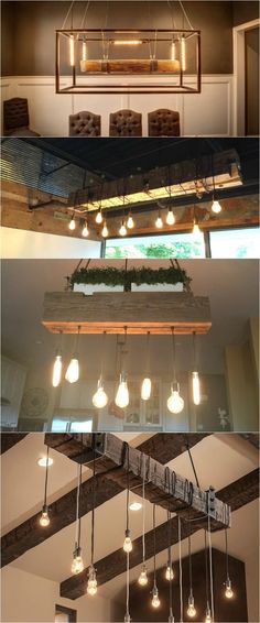 Wood Light Fixtures Video Showcase Flush Mount Lighting Wood Lamps