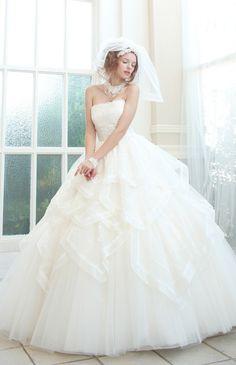 マ・シェリ No.57-0019 ウエディングドレス 結婚式