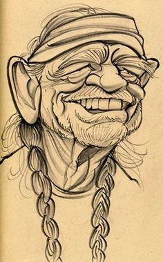 Willie Nelson by  Zack Wallenfang