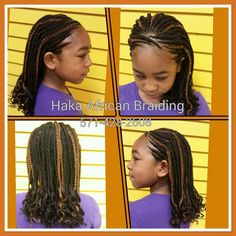 Happy Sunday Everyone! Kids Single and Feed-in Cornrows Braids done by us... Call now and get yours done today! 📞571-428-2608 #Backtoschoolbraids #Combobraids #Tarzanbraids #Singlebraids #Cornrowsbraids #Bestafricanhairbraidinginnorthernvirginia #Bestbraiders #Hakaafricanbraiding #Manassasmall #Freewifi #Freewater