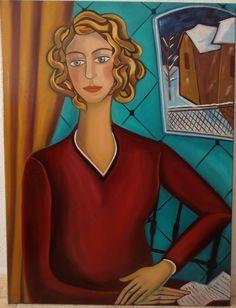 """""""LA CARTA""""  Óleo sobre lienzo Tamaño 60x80 cm. http://javierbeniteztoyos.blogspot.com.es/"""