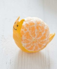 Love All our pets--- My mom made an octopus out of a tangerine when I was about 4-- loved it.