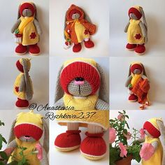 #villy_vanilly_shop #weamiguru #вязание #амигуруми #вязанаяигрушка #вязаныйзаяц #knitting #crochet