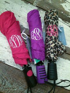 Monograms Personalized Umbrella