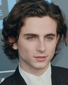 His eyes and hair <3