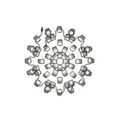 04_Peyote-circular-esquema Peyote Beading, Peyote Stitch, Brick Stitch, Beading Patterns, Seed Beads, Diy Jewelry, Tassels, Diy And Crafts, Pom Poms