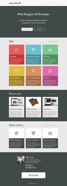 Website Design via http://jakegiltsoff.co.uk/ flat
