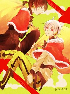 Christmas anime boys Kagerou Project