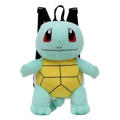 (affiliate link) Pokemon Squirtle 17-Inch Plush Backpack