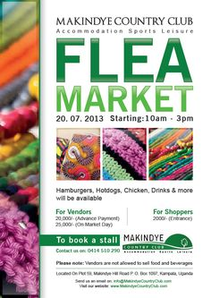 Makindye Country Club - Flea Market - 20th July 2013