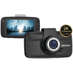 Papago GS520-8G GoSafe 520 UltraWide HD 2K Resolution Dash Cam with 8GB microSD( #PAPAGO