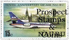 Air Nauru Stamp