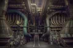 Abandoned power station by Andre Govia.   https://www.flickr.com/photos/andregovia/8758856946