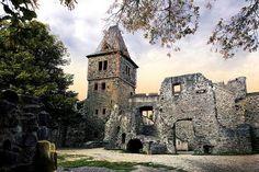Burg Frankenstein / Odenwald mit Wald-Erlebnispfad