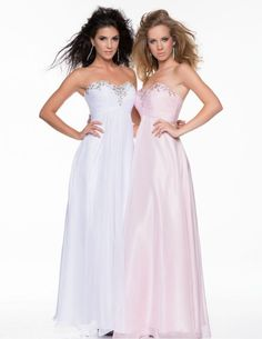 Check Out Our Awesome Product: Nina Canacci Hand Beaded Strapless Bodice Ruched Style 1009>>>>>>