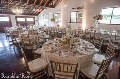 Romantic wedding reception by Southern Event Planners, Memphis weddings