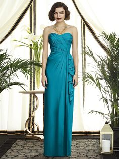 OASIS! My color! Is this the right teal, @Gracie Gonzales @Leslie Villegas // Dessy Collection Style 2895 http://www.dessy.com/dresses/bridesmaid/2895/#.Uu3SGfYha_d