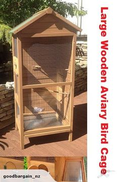 Wooden Aviary Bird Cage-Large size | Trade Me