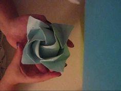 Origami Rose Tutorial
