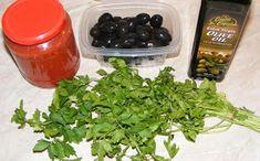 Ghiveci de legume ingrediente Seaweed Salad, Herbs, Ethnic Recipes, Food, Herb, Meals, Yemek, Eten