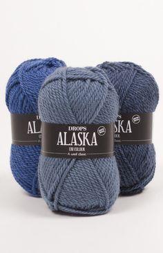 DROPS Alaska est un fil classique, non traité, en 100% laine vierge. Une laine non traitée signifie que les fibres sont seulement lavées et pas exposées à...