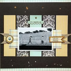 A Project by Lilith Eeckels from our Scrapbooking Gallery originally submitted at AM Scrapbook Sketches, Scrapbook Page Layouts, Scrapbooking Ideas, Digital Scrapbooking, Scrapbook Templates, Scrapbook Designs, Vintage Scrapbook, Wedding Scrapbook, Scrapbook Paper Crafts