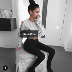 @madisonbeer in @blvckd0pe.clothing  #loveyougirl by blvckd0pe