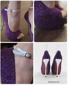 Sapato Roxo