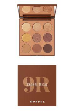 Makeup News, Morphe, Palette, Eyeshadow, Make Up, Bronze, Metal, Eyes, Cowgirl Costume