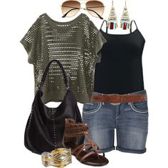 """Boho - Plus Size"" by alexawebb on Polyvore"