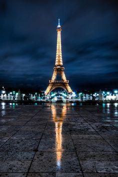 Photographic Art :: Eiffel Tower - Paris, France
