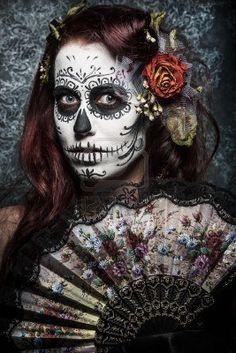 Dias de los muertos - Day of the dead #halloween #makeup ...