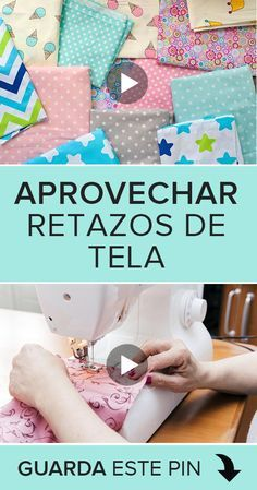 Si tienes tela que te ha sobrado y no sabes que hacer con ellas, ¡no las tires! 😊 Porque puedes reutilizarlas para hacer manualidades divertidas y sencillas. En este videotutorial te explicaremos como aprovechar los rezatos de tela que te sobren. 👆👆👆  #costura #DIY #sewing #sewingtutorials #courses #cursos #patrones #patterns #manualidades #tela #retazos Easy Sewing Projects, Diy Projects To Try, Sewing Hacks, Sewing Basics, Sewing For Beginners, Costura Diy, Barbie Clothes, Crochet Stitches, Diy Art