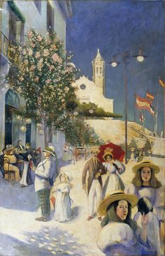 Sitges In The Twentieth Century by MotionAge Designs Sitges, Art Pictures, The Twenties, Wall Art, Painting, Design, Amazing, Google, National Museum