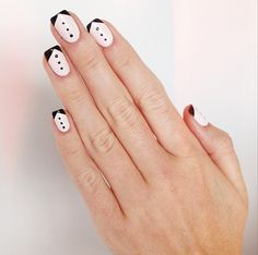 fancy black tie nail tutorial