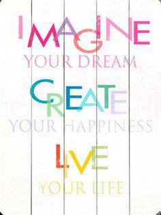 Imagine Your Dreams Wall Decor