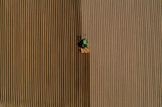 Tractor at work Space Photography, Aerial Photography, Landscape Photography, Night Photography, Map Quilt, Different Points Of View, Aerial Footage, Aerial Images, Honeymoon Places