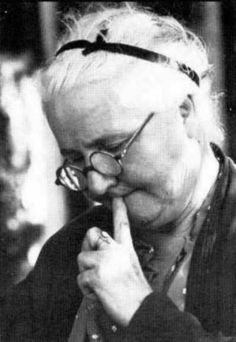 """Mary Elizabeth Mahnkey (1877-1948), """"Poet Laureate of the Ozarks,"""" and long time correspondent for the Taney County Republican and Springfield Newspapers. In 1935, named by The Farm Journal """"Best Rural Newspaper Correspondent in the United States."""" (Photo by Townsend Godsey)"""