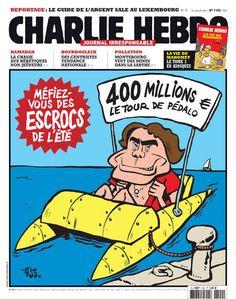 La Une de la semaine du 31 juillet 2013 | Charlie Hebdo