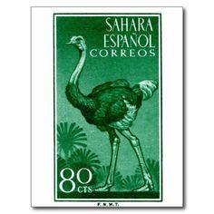Sahara Espanol Stamp